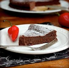 flourless chile chocolate cake tastefood
