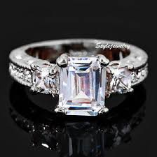 swarovski wedding rings images Wedding rings swarovski crystal wedding rings rft wedding ring jpg