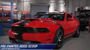 ford mustang scoops mustang scoop pre painted 10 12 gt v6 review