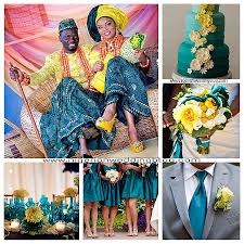colour themes for nigerian wedding wedding colors combination of colors for wedding new nigerian