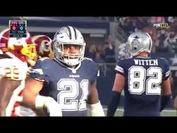 2016 dallas cowboys vs washington redskins highlights