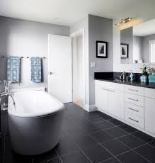 Gray Bathroom Tile by Black And White Bathroom Paint Ideas Gallery