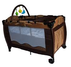 new portable child baby travel cot bed bassinet playpen play pen