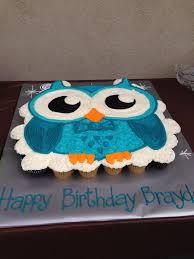 owl cupcake cake dapper owl party pinterest owl cupcake cake