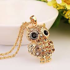 necklace owl images Goldyowl brand charms owl necklace owlfanworld jpg