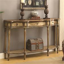 Storage Table For Living Room Furniture Traditional Console Table Black Furniture With Drawers