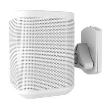 logitech speaker wall mount newstar neomounts nm ws130white mounting kit wall ceiling