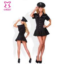 Fbi Agent Halloween Costume Halloween Police Costumes Photo Album 8 Pc Police Women