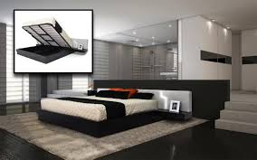 bedroom dazzling modern headboard with storage interior