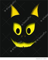 cat halloween background halloween halloween cat cutout stock illustration i1449434 at