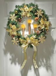 Outdoor Christmas Decorations Candles by 47 Great Christmas Wreath Ideas To Keep The Traditions Alive