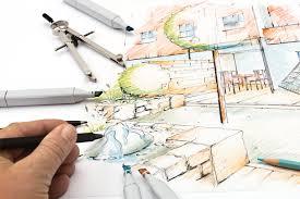 free garden sketch design stock photo freeimages com