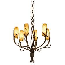 Art Nouveau Lighting Chandelier Napa 6 Light Chandelier Kalco