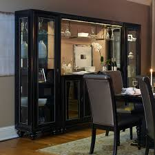 Dining Room Table And China Cabinet by Shop Najarian Furniture Ibiza Lighted China Cabinet At Atg Stores