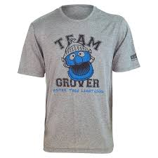 grover running shirt sesame street athletics u003e brainstorm gear