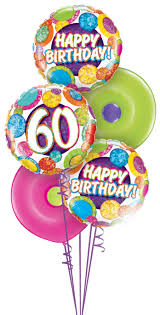 get balloons delivered 60th birthday 30 40 50 70 80 90 100 balloons bouquet saskatoon