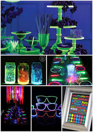 neon party ideas 15 glow in the party ideas b lovely events
