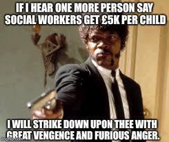 Social Worker Meme - say that again i dare you meme imgflip