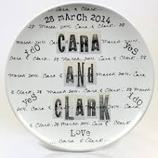 personalized wedding plate personalized gifts imprints at the blue door
