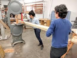 wood shop intermediate furniture allied woodshop