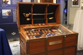 this beautiful chest was a gift upon his retirement to forcm engles