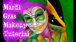 mardi gras joker mardi gras jester makeup tutorial outcastsfx