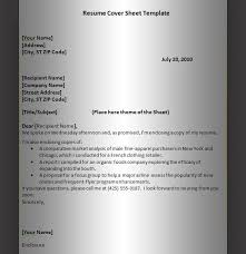 Resume Letter Sample Format by Resume Template Graphics And Templates