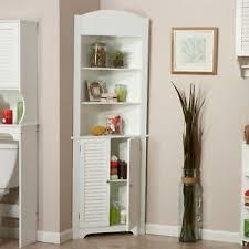 corner kitchen cabinet furniture details about corner kitchen cabinet storage pantry white wood bathroom cupboard shelves