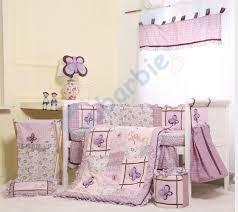 Lilac Damask Crib Bedding Nursery Beddings Lavender Damask Baby Bedding Also Lavender And