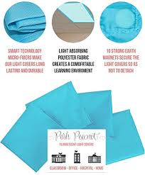 Fluorescent Light Covers Fabric Amazon Com Fluorescent Light Covers Cozy Shades Softening Light