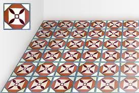 encaustic cement tiles retro vintage original or custom made