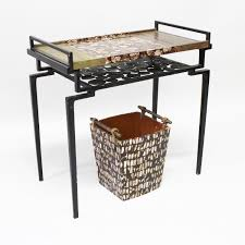 removable tray top table r y augousti a tray top table the removable tray inlaid