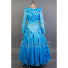 princess aurora ballerina blue dress costume for disney sleeping