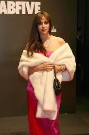 Monica Bellucci Vanity Fair Monica Bellucci In Milan Fashion Week Vanity Fair Party Zimbio