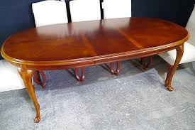 Oval Mahogany Coffee Table Vintage Oval Mahogany Extending Table 8 New Parson S Chairs