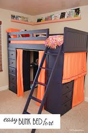 How To Make A Bunk Bed With Desk Underneath by The 25 Best Bunk Bed Shelf Ideas On Pinterest Bunk Bed Decor