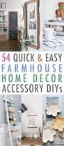 54 quick and easy farmhouse home decor accessory diys the