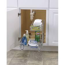 kitchen sink organizer how to organize under the kitchen sink