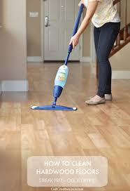 how to clean hardwood floors creative juice