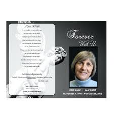 pictures for funeral programs funeral programs template
