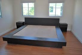 considerable low wooden bed frame along and japanese platform bed