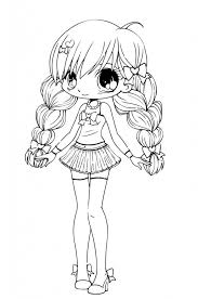 chibi coloring pages download print free