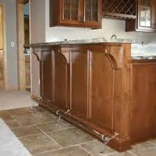 foot rails for kitchen islands theedlos