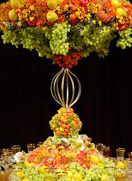 fruit centerpiece fruit centerpieces for lavish wedding prestonbailey