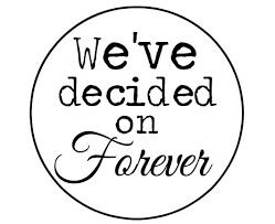 wedding quotes etsy 100 we ve decided on forever by hobbiesfromtheheart on etsy