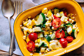 cuisine salade salade de légumes et feta alex cuisine