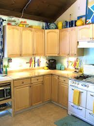 nine red painting kitchen cabinets part 1