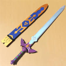 Master Sword Papercraft - the legend of skyward sword master sword pvc replica