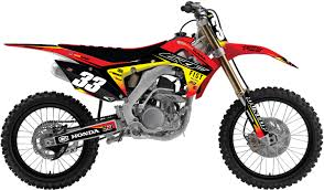 honda cdr bike honda u0027flux u0027 kit rival ink design co custom motocross graphics