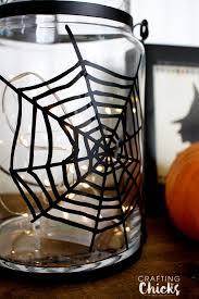spiderweb halloween lantern the crafting